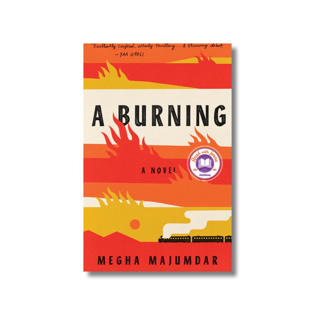 Cover of Megha Majumdar's A Burning.