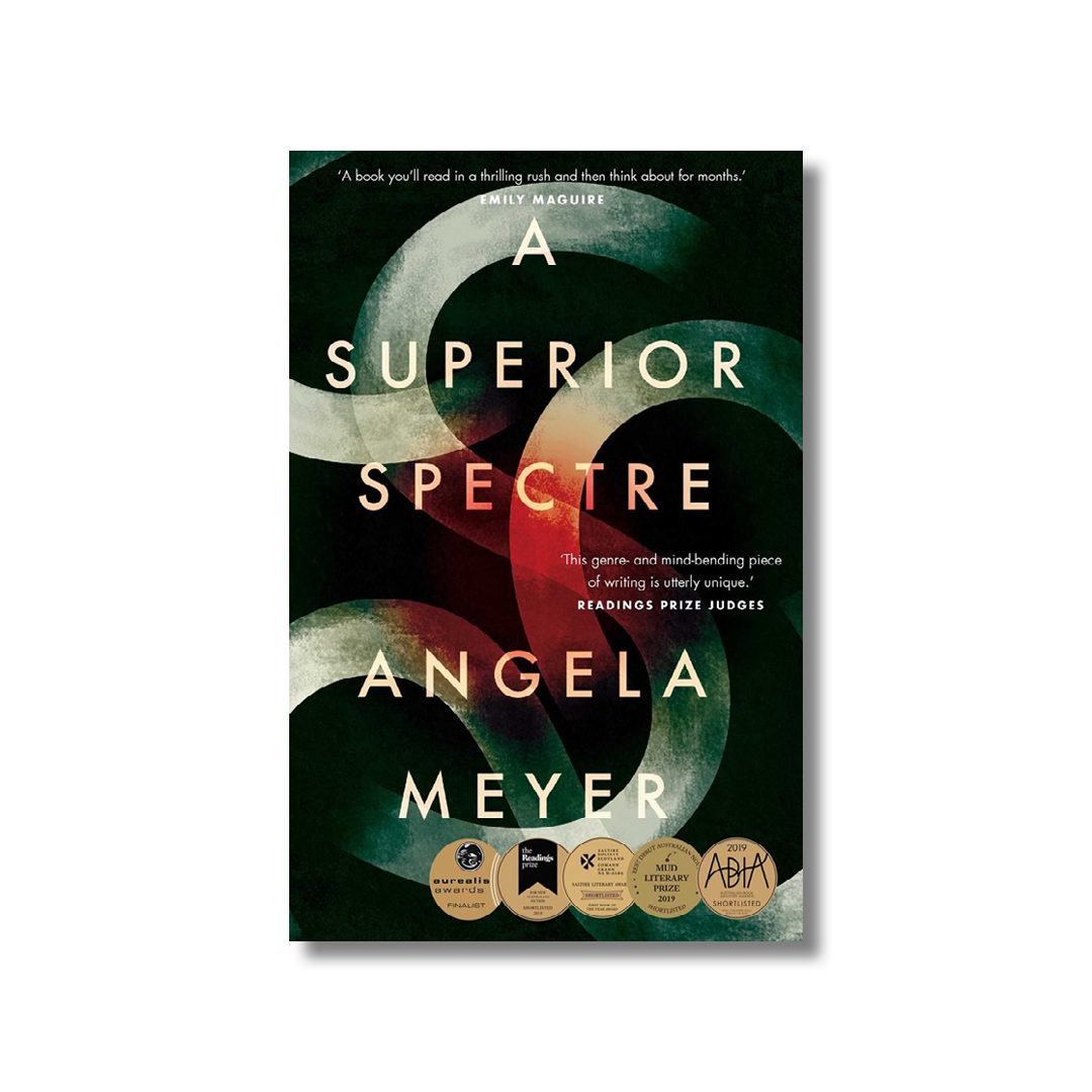 Cover of Angela Meyer's Superior Spectre.
