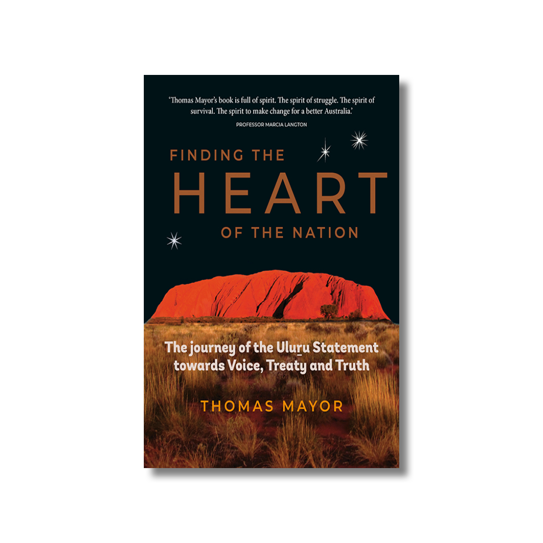 Cover of Thomas Major's Finding the Heart of the Nation
