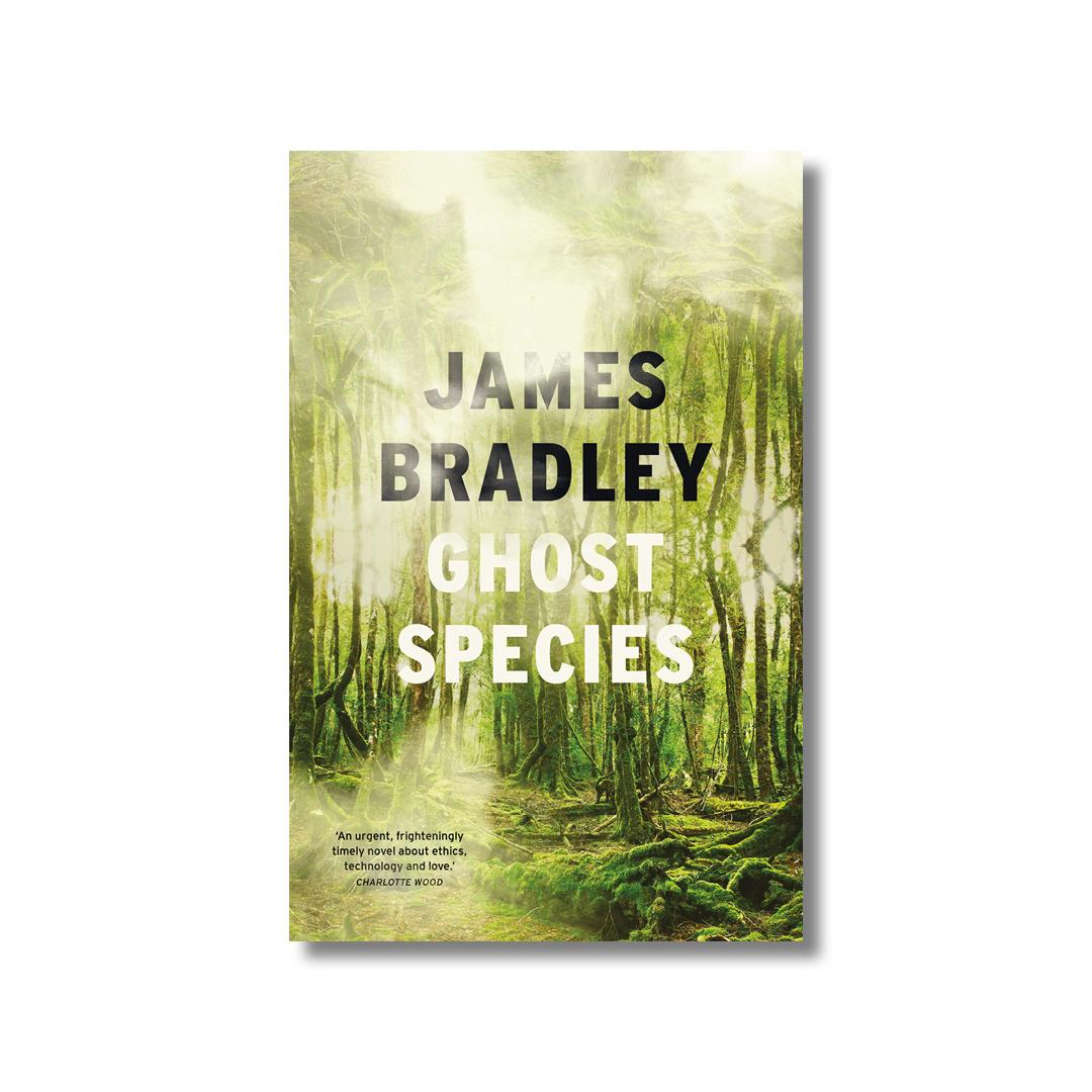 Cover of James Bradley's Ghost Species.