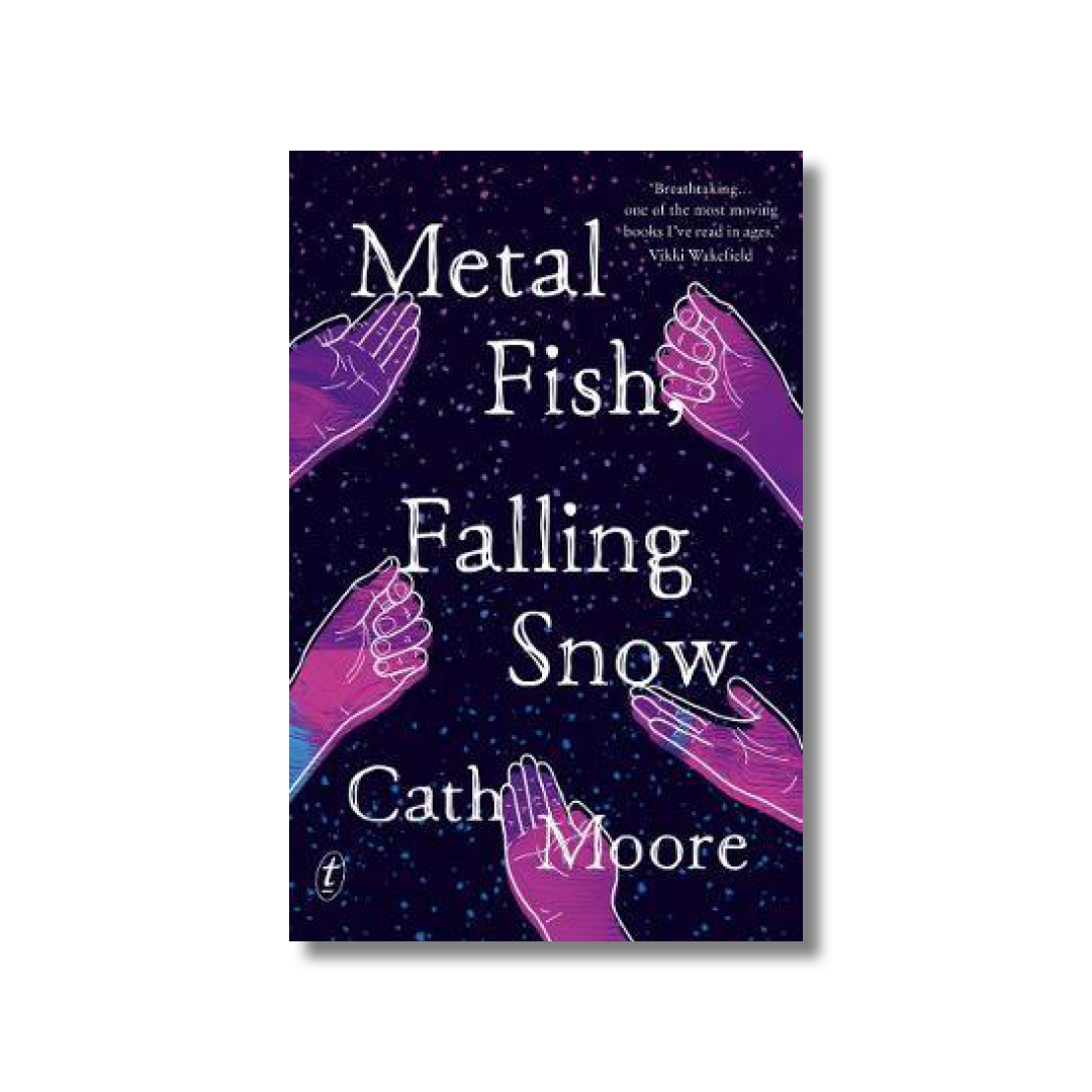 Cover of Cath Moore's Metal Fish, Falling Snow.