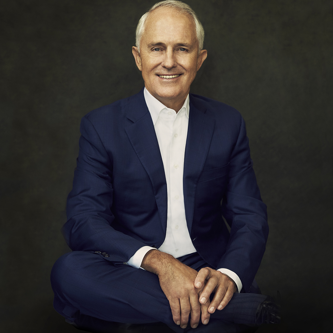 Portrait of Malcolm Turnbull
