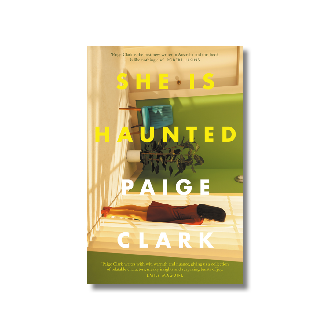 Cover of Paige Clark's She is Haunted